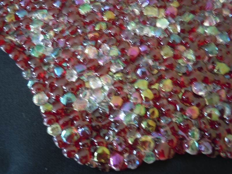 Close-up: Ruby and Moonstone Bowl