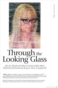 "2018 Nashville Arts Magazine – ""Through the Looking Glass"" 